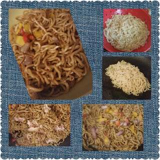 house foods shirataki noodle stir fry collage
