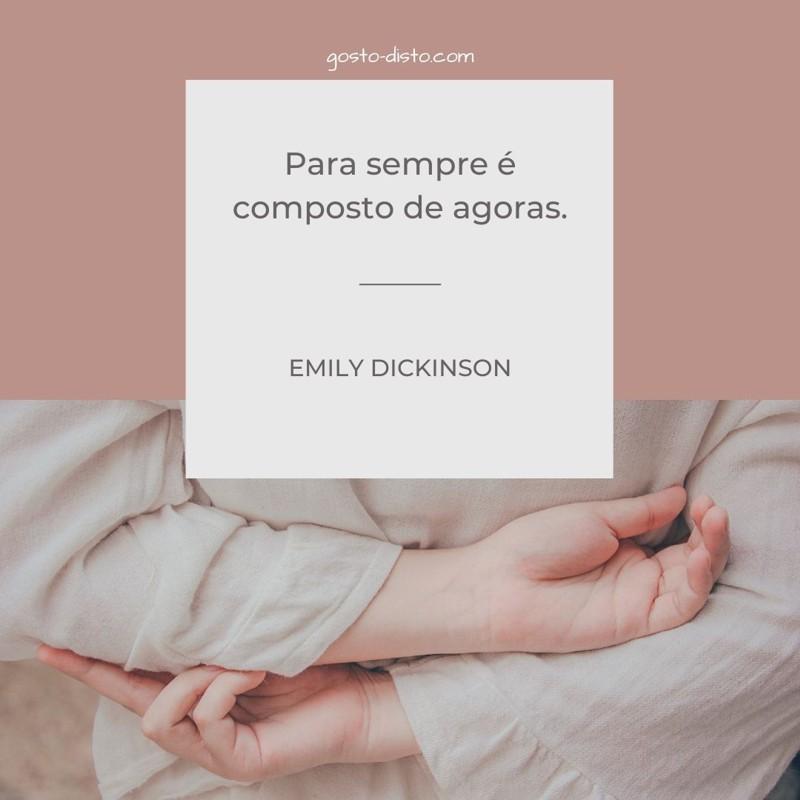 Frase de Emily Dickinson