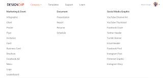 designcap features list