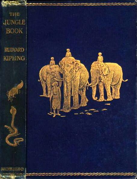 """Portada del libro """"El Libro de la Selva"""""""