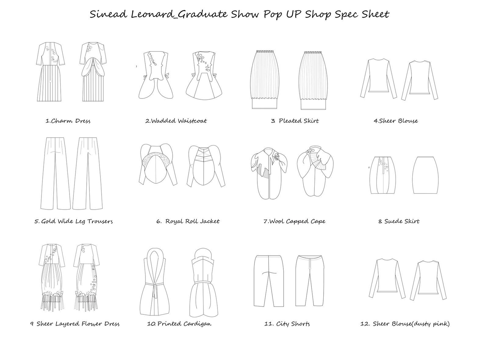 LSAD fashion graduates: Sinead Leonard