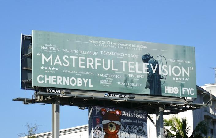 Chernobyl Masterful Television HBO FYC billboard