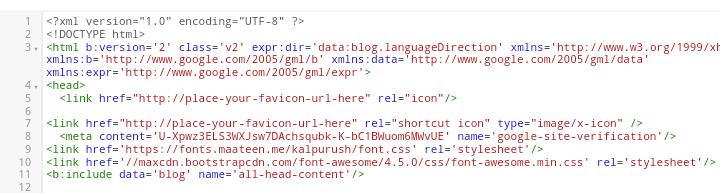 HTML সম্পাদনা