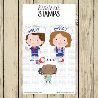 Kindred Stamps Stranger Friends Bonus Digital Stamp Set