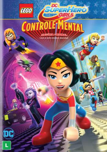 Filme Poster  Lego Dc Super Girls: Controle Mental