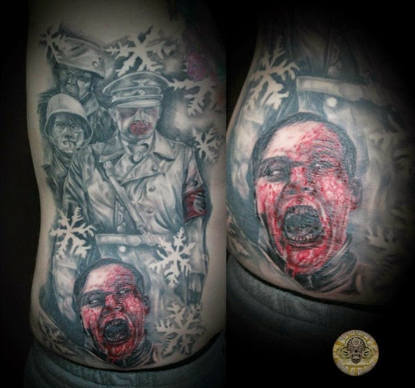 Horror Movie Tattoo Seen On www.coolpicturegallery.us
