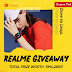 Realme Achieved No 1 in Shopee Collaboarted With Giveaway