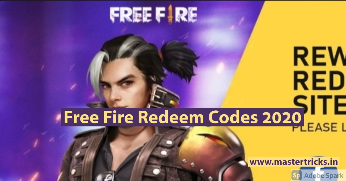 Free Fire Redeem Codes 2020 | Latest WORKING Codes | Full ...