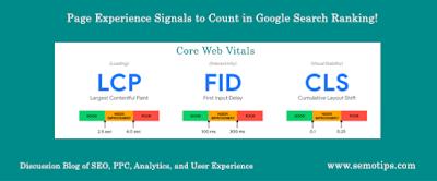 Google Page Experience Signals