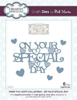 CEDPM1005 - From the Heart Collection On Your Special Day Die