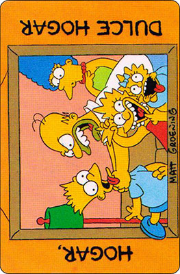 Bollycao The Simpsons Cromo 23