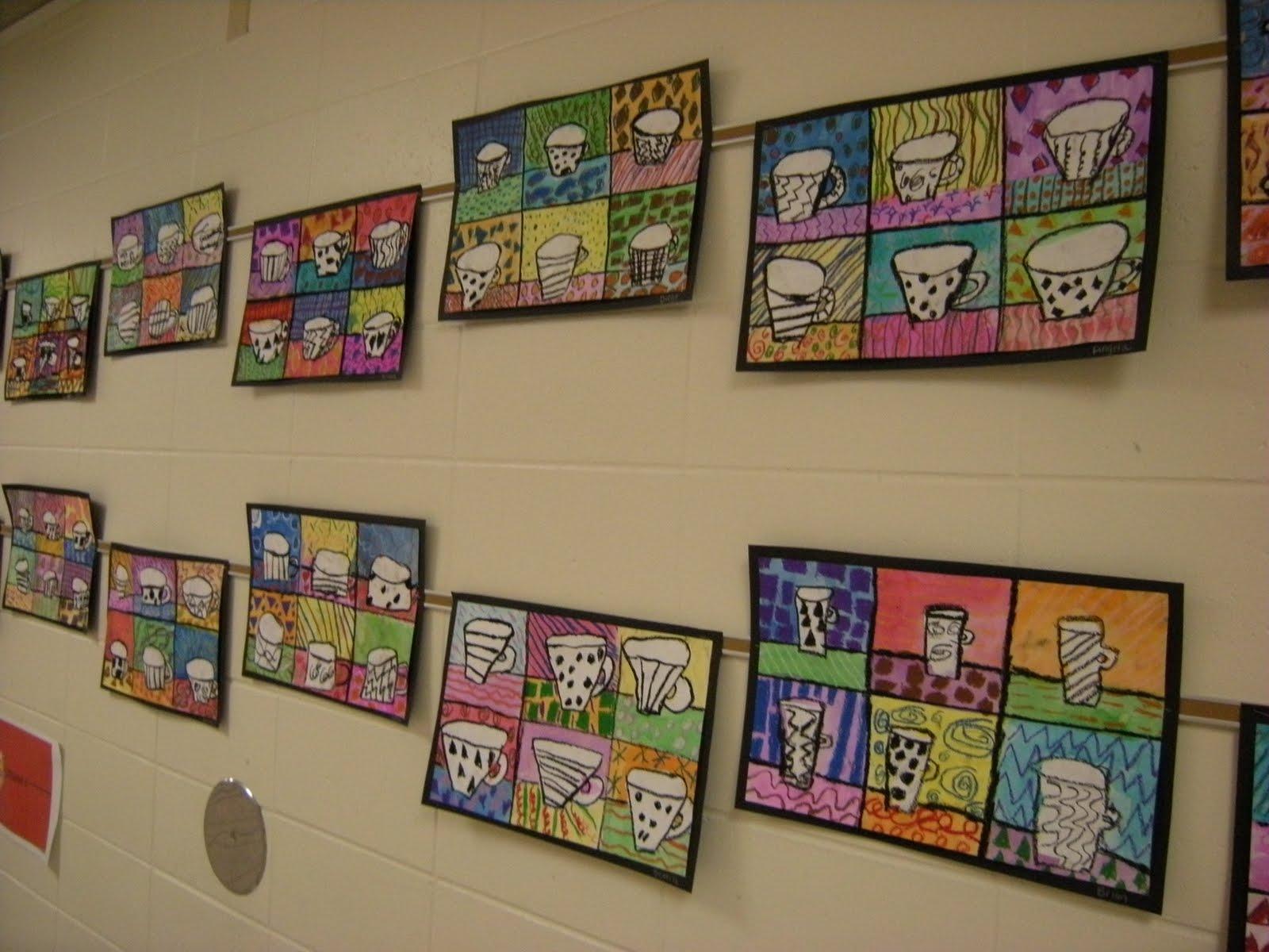 What S Happening In The Art Room 4th Grade Pop Art