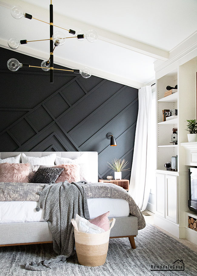 Home Depot bedroom decor
