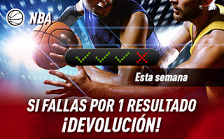 sportium NBA: Combinada con seguro hasta 26 enero 2020