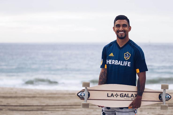 low cost 09188 64e70 LA Galaxy 2015 Away Jersey Released - Footy Headlines