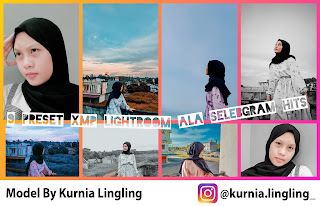 9 Preset XMP Lightroom Ala Selebgram Hits
