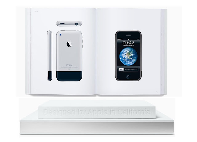 "Apple released a new hardbound book covering 20 years of Apple's design named as ""Design by Apple in California"" which is dedicated to the memory of Steve Jobs"