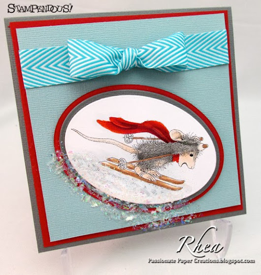Ski Run - House Mouse Designs and Stampendous