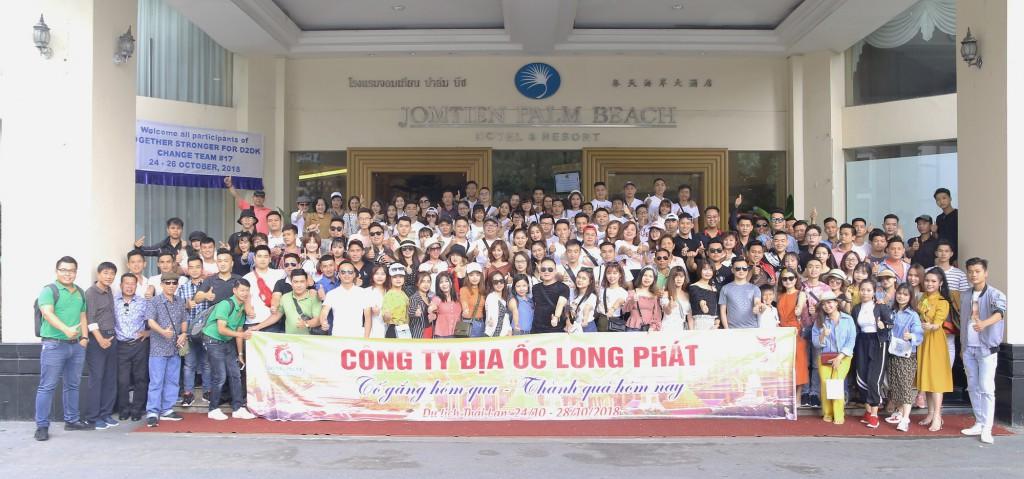 Địa ốc Long Phát du ngoạn Thái Lan với hơn 200 nhân viên