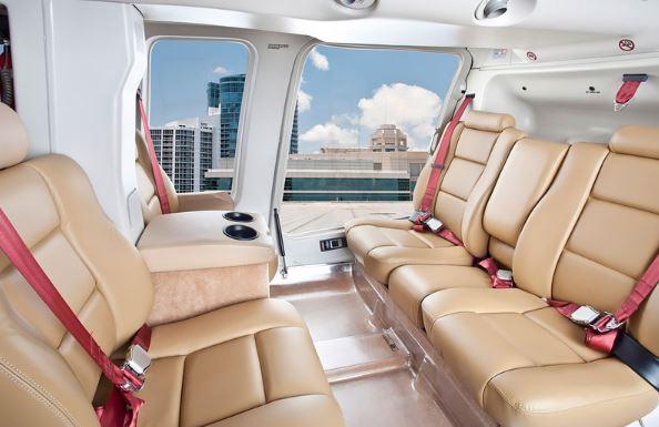 Bell 407GX interior