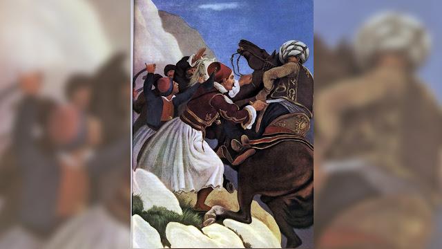 14 Αυγούστου 1822:  Πεθαίνοντας παραμονή Δεκαπενταύγουστου στο Κοφίνι