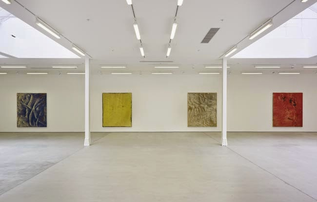 A view inside the Sadie Coles gallery