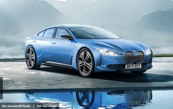 BMW I4 Tahun 2022 Sumber : caranddriver
