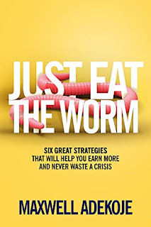 Just Eat The Worm: Six Great Strategies That Will Help You Earn More And Never Waste A Crisis best book promotion sites By Maxwell Adekoje