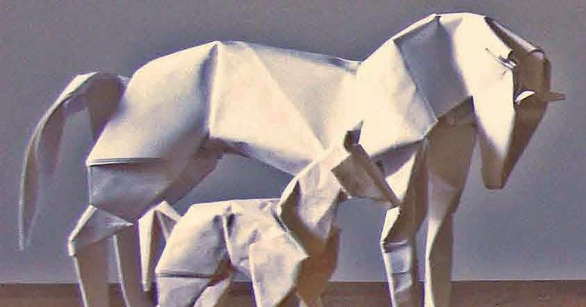 money origami diagram 8n ford tractor headlight wiring 3d horse | paper guide