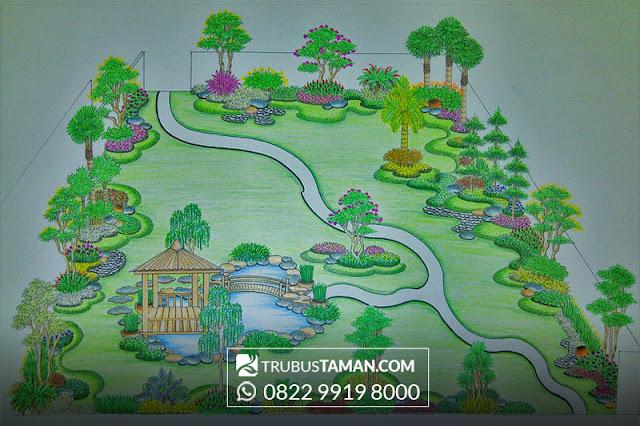 Tukang Taman Jakarta Galery Desain Sketsa