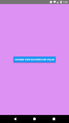 React Native Generate Random Color on Button Click