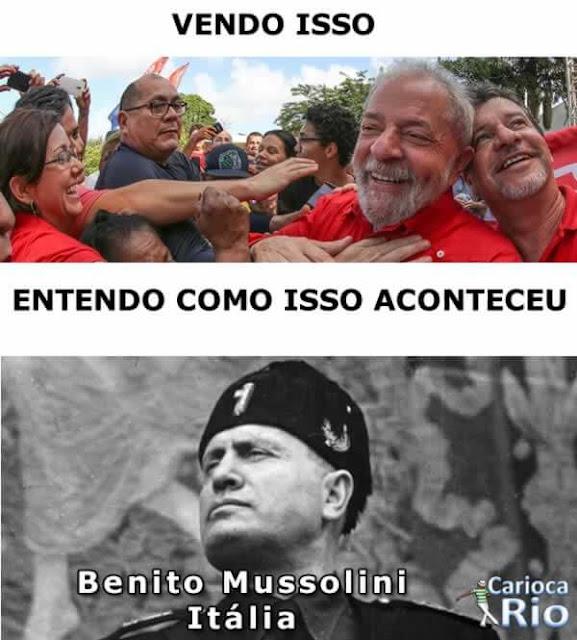 lula Benito Mussolini
