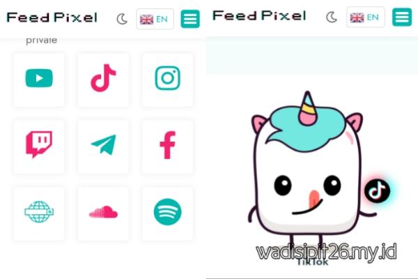 Feedpixel.com cara mendapatkan followers tiktok like dan view gratis tanpa verifikasi