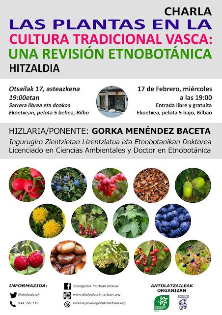 Las plantas en la cultura tradicional vasca: una revisión etnobotánica