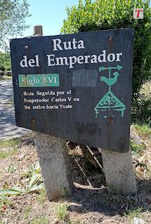 Último tramo de la Ruta de Carlos V