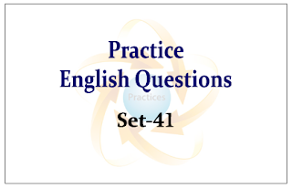 Practice English Questions for Upcoming Bank PO and Clerk Exams