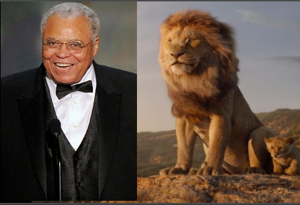 James Earl Jones Sebagai Musafa