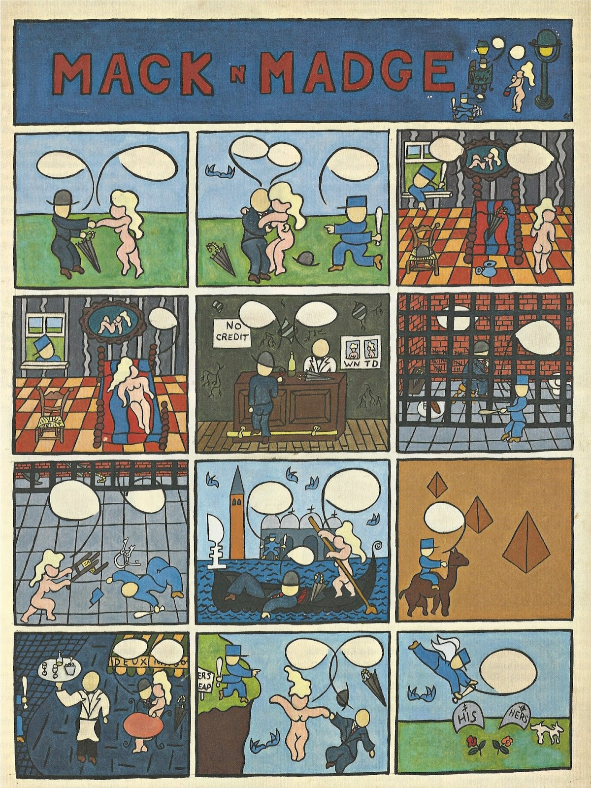 Comic strip madge