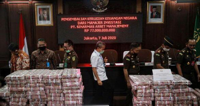 Terseret Kasus Jiwasraya, Sinarmas Balikin Duit Rp77 M ke Negara