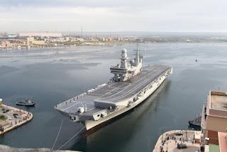 Kapal Induk Cavour AL Italia