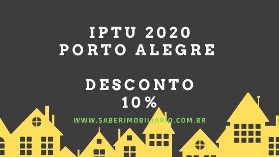 DESCONTO IPTU 2020 PORTO ALEGRE