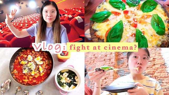 【減肥日常VLOG】在電影院罵架?居家韓式炒年糕、海帶湯、檳城最🔥的Wheeler's Cafe|大馬女生の生活|A DAY IN MY LIFE in MALAYSIA|WONDER QUEEN