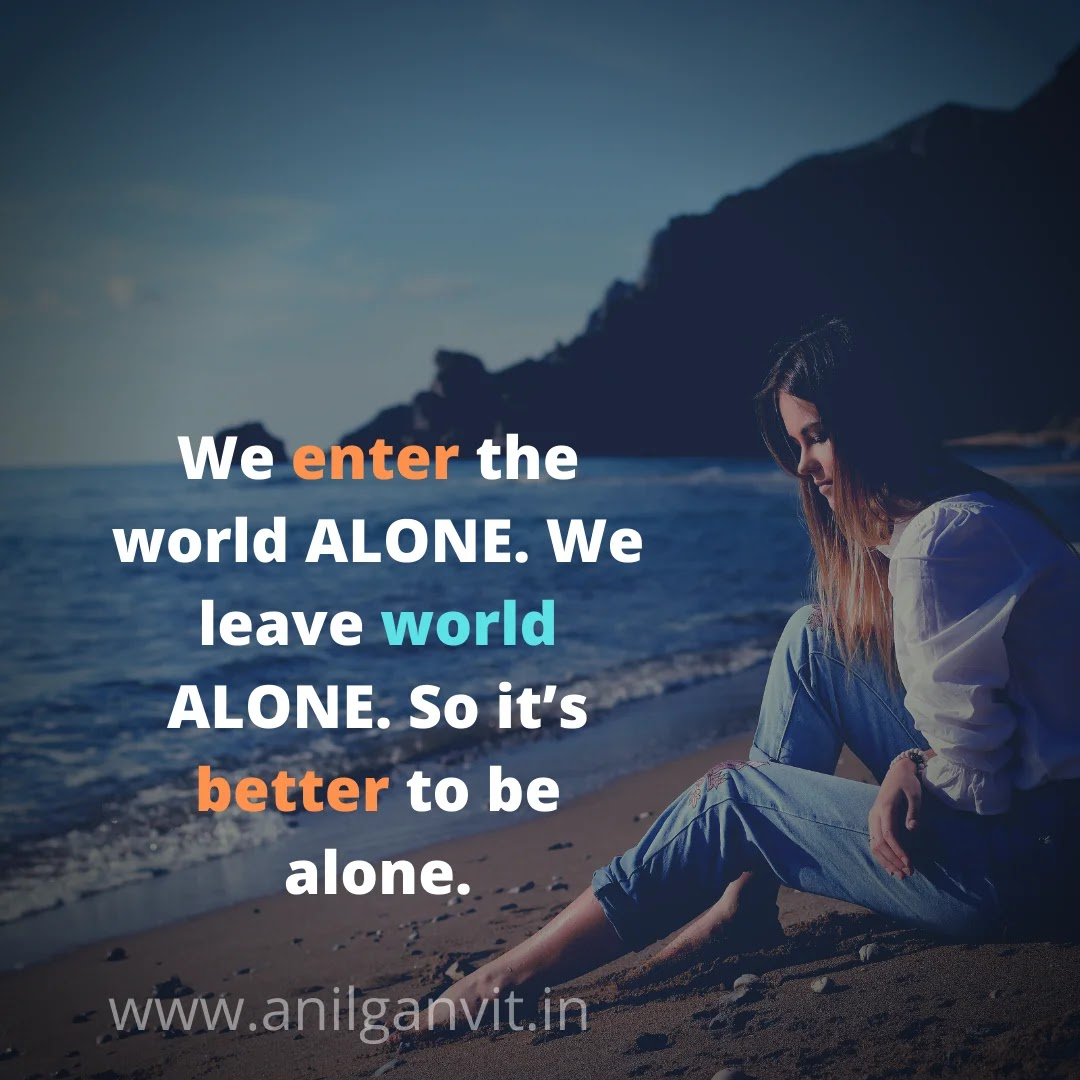 Feeling Alone Status in English