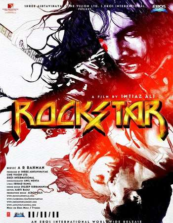 Poster Of Rockstar 2011 Hindi 720p BRRip ESubs Free Download Watch Online