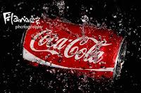 Coke Can in Water