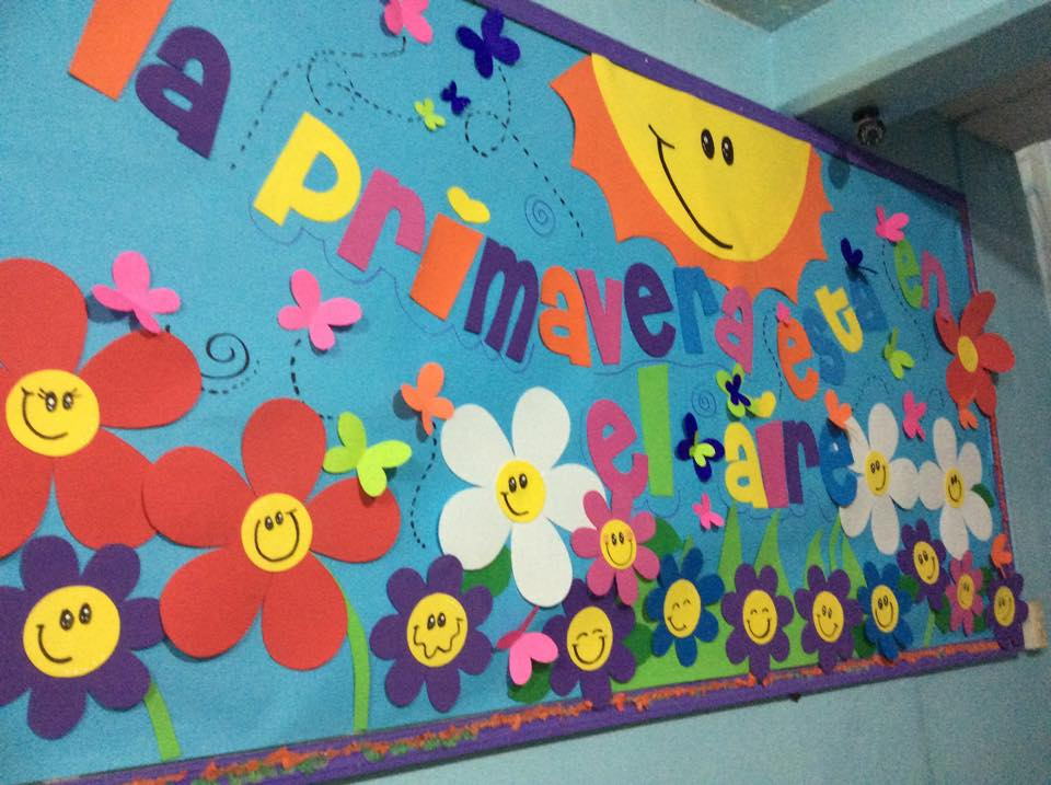 13 peri dicos murales de marzo y primavera educaci n for Grado medio jardin de infancia