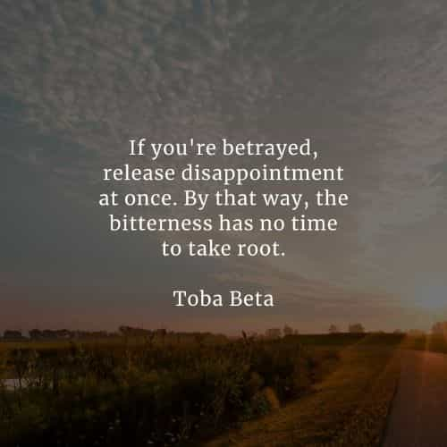 Betrayal quotes that'll tell you more about the matter