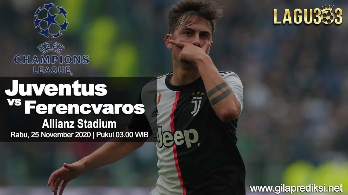 Prediksi Juventus vs Ferencvaros 25 November 2020 pukul 03:00 WIB