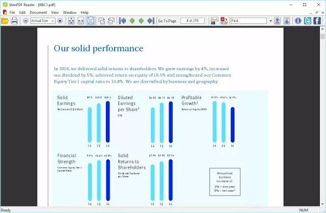 تحميل قارئ الكتب pdf للكمبيوتر خفيف جدا Slim PDF Reader