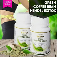 Diet & Detox Exitox Green Coffe Bean Extract Bpom